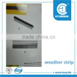 2015 HOT weather strip for cars / weather strip for wood window / wooden door weather strip factory price