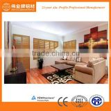 Top aluminium interior security wooden window shutters                                                                                                         Supplier's Choice