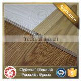 Durably anodised T cover profile aluminium floor transition strips for finger joint