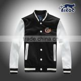 quality mens button-up cotton jackets with embroidery