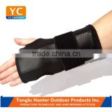 sports safety wrist brace support palm support the dual protection of sheet steel and leather