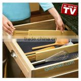 As Seen On TV Drawer Divider Ideal for kitchen utensils,gadgets,cutlery, towels and pot holder