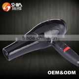 2000w black sleek smooth 2 heat speed settings electric motor for hair dryer with diffuser SY-6819
