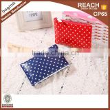 Beautiful Convenient Clutch Bag Oil Cloth Toiletry Bag Fashion Waterproof Canvas Mini Cosmetic Bag