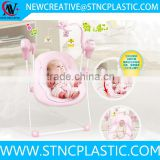 folding baby electric automatic cradle swing with mosquito net