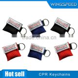 CPR Face shields/Mouth To Mouth Apparatus/CPR Mask, one-way valves