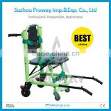 PWS-5T2 Stair Chair Stretcher Foldable Aluminum Alloy Stretcher with Wheels CE&FDA Approved