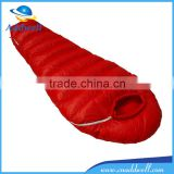Outdoor travel camping ultra light mummy nylon goose down sleeping bag