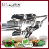 Stainless Steel Ice Scoop/Stainless Steel Bar Ice Scoop, 225 ml