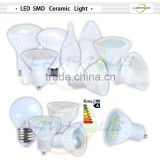 Ultra bright led MR16 ceramic spot light lamp smd led bulbs 5w=50w halogen dimmable spotlight
