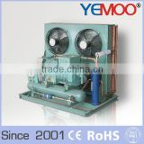 Hangzhou Yemoo bitzer 8hp air cooled evaporative air conditioning units cooler with condenser fan motor
