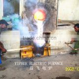 Spot Sell Temperture up to 2000 c Induction Electric Crucible Melting Furnace Manufacturer