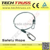 high quality truss accessories Safety Rope, Safety Rope for tower truss construction system