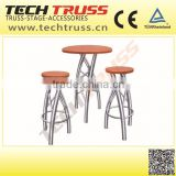 BS03Swivel casino furniture aluminum bar stool with high quality and reasonable price