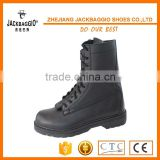 Shoelaces type genuine leather material Industrial safety boots,Cheap black industrial work boot Steel toe insert