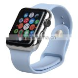 Customize colors acceptable 38mm/42mm size silicone sports watch band strap for iwatch strap for apple watch band                                                                                                         Supplier's Choice