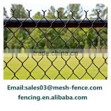 PVC /PE chain link fence from Alibaba( diamond wire mesh)                                                                                                         Supplier's Choice