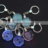 Popular Personalized Key Chain / LED Light Crystal Keychain/ Sell Well Souvenir Gift Crystal                                                                         Quality Choice
