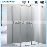 bathroom shower made in china 8mm clear glass,big wheels 6840sliding shower enclosure,glass shower enclosure