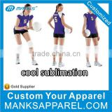 customize women new design volleyball jersey