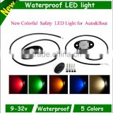 2015 wholesale Waterproof Deck rail light for boat offroad trucks led underwater boat light