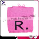 100% acrylic knit children winter knit scarf infinity loop pashmina scarf factory wholesale sales