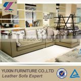 Classical vintage style wooden leather sofa design,cheap leather sofa set for living room