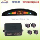 LED VFD car distance detection system
