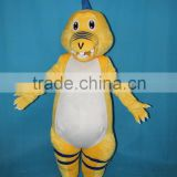 HI wholesale used dinasour cartoon mascot costume, barney costume for rental