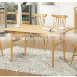 Modern ash wood dining table used tables and chairs for sale