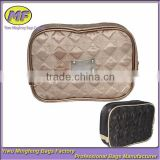 Top Luxury Quilted Satin Cosmetic Bag Manufacturer Supplier