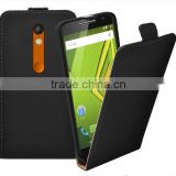 Free Shipping For Motorola Moto X Play XT1563 XT1562 Ultra Slim Leather Flip Cover Case