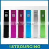 Lipstick Power Bank 1600mah External Battery Charger For Samsung