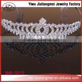 2016 Manufacturers wholesale fashion beauty pageant queen wedding crowns and tiaras for sale OEM&ODM