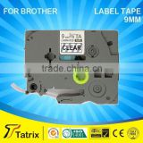 For Brother priter label tape cartridge TZe 121 cassette compatible for Brother printer.