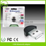 Brand New Smallest USB Bluetooth Adapter Dongle EDR Version 2.0 MINI NANO MICRO BLUETOOTH USB ADAPTER