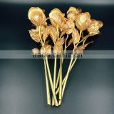 25cm 24K Gold Bud Rose of Wedding Gifts