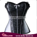 new arrival 2016 plus size waist training corset open cup fat woman sexy corset wholesale fat woman sexy corset