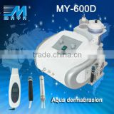 promotional price !MY-600D 3 IN1 ultrasonic electric back scrubber skin rejuvenation beauty machine (CE)