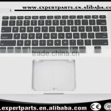 "Tested working laptop US top case palmrest with keyboard backlight for Macbook Pro 13"" A1278 2011 2012 ,no touchpad"