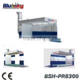 BSH-PR8300 CE and ISO approved car painting equipments/paint drying oven/Prep Station Spray Paint Booth