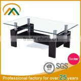 No Folded and Modern Appearance Glass Coffee Table JY-02