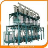 China supplier small scale flour mill machinery/corn flour milling machine/low price flour mill plant