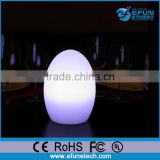 remote control battery operated egg shape led mood light decorative floor lamp