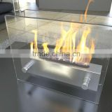Ethanol fireplace FD47 + Stainless steel + Table top