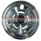 "Golf Cart Parts CHROME 8"" Golf Cart Hub Caps - EZGO, CLUB CAR, Set of 4 Wheel Covers NEW"