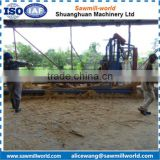 Shuanghuan wood cutting machine manufacture wood circular sawing blades angle sawmill machine