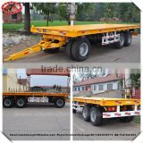 20ft 40ft dump container trailer chassis , container tipper trailer , dump container trailer