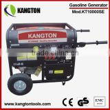 7KW E-Start Gasoline Generator with Frame and Wheels