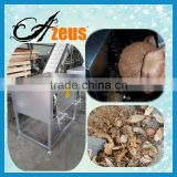 QKJ-2 stainless steel old coconut hard shell remover machine coconut trimming machine/coconut dehusker machine
